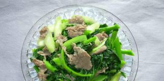 Cách làm món thịt bò xào cải ngồng vừa bổ vừa ngon ai ăn cũng thích