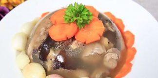 Cách làm thịt gà nấu đông thơm ngon cho ngày tết thêm thú vị