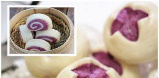 Cách làm bánh bao hai màu