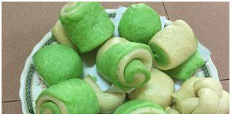 Cách làm bánh bao lá dứa