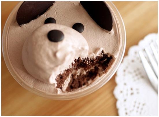 Cách làm bánh kem hình gấu