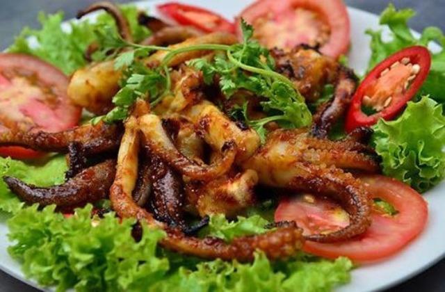 Cách làm bạch tuộc nướng muối ớt giòn ngon rồi muốn ăn nữa