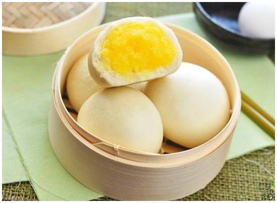 Cách làm bánh bao sữa trứng