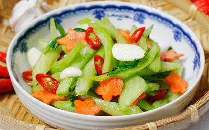 Cách làm cải thảo muối xổi vị chua cay ăn vô là nghiền