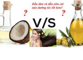 Dầu dừa hay dầu oliu dưỡng tóc tốt hơn