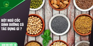 Uống bột ngũ cốc dinh dưỡng thường xuyên có tác dụng gì ?