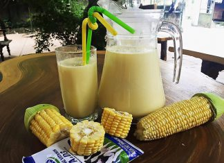 Tự làm sữa ngô bổ dưỡng
