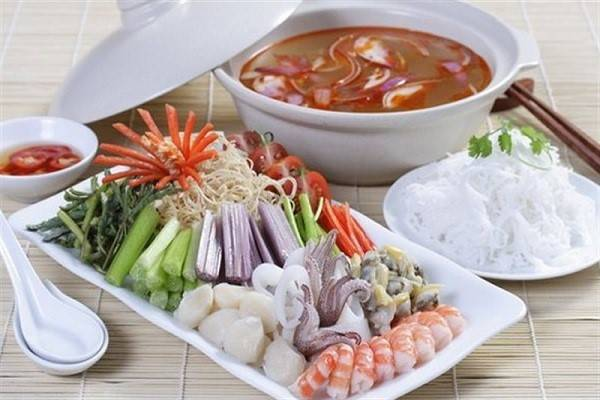 Các bước thực hiện nấu món lẩu hải sản