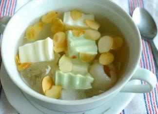 Chè khúc bạch vani và trà xanh
