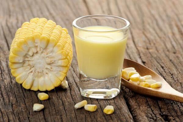 Sữa ngô - Thanh mát ngày hè