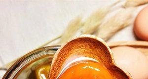 Lòng đỏ trứng ngâm mật ong